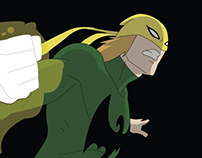 Vetorização Iron Fist - Marvel