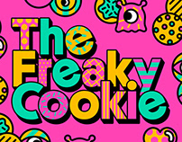 The Freaky Cookie Marketing Artwork