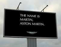 Aston Martin Billboard AD