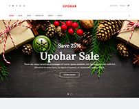 Upohar - Christmas Gift Shop WooCommerce WordPress Them