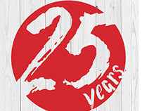 NSCA Japan 25th Anniversary Logo
