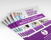 Family Medical Center Flyer Design