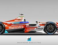 Mahindra Racing 2018 - M4electro Livery Designs.
