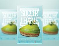 Soccer Match League Flyer Template