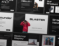 Blaster Presentation Template