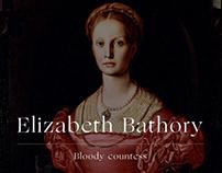 Pre-order Báthory's diary | website design