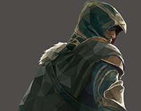Ezio Auditore Low Poly