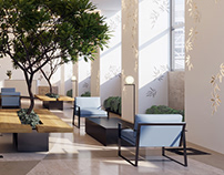 Weizmann Center Tower Lobby Renovation