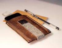 Asper | Bolsa em pele para iPhone | iPhone leather case