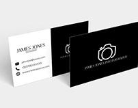 Free BW Minimal Business Card