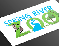 Spring River Zoo Logo, Map, & Brochure