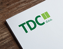 TDC Logo Design & Website UI Design