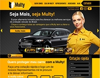 Multy Proteções - Website 2016