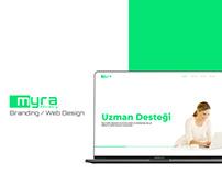 Myra Advisory Branding/Web Design