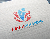 Asianpreneur logo design