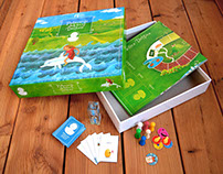 Board Game - The Journey of the Dolphin Girl