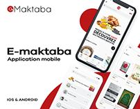 E-maktaba - Application mobile Android & Ios