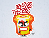 RAMAK STICKER PACK