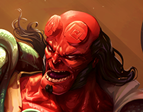 HELLBOY fan art
