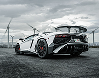 Lamborghini Aventador SuperVeloce Photo-Manipulation