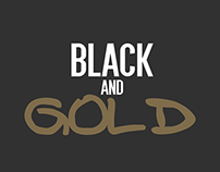 Black and Gold | Illustration