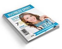 Business Spirit Newsletter Magazine - 40 Pages V.3