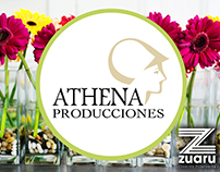 Athena Producciones Website (Design & Development)