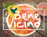 Identidade Visual Bene Vicino Restaurante