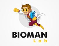 Bioman Lab branding