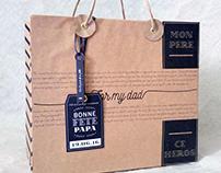 Packaging fête des pères