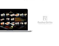 Bambus Garten - Website Design