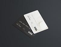 PSD Credit Card Mockup