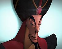 Jafar 3D (Disney, Alladin)
