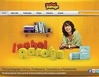 Website Isabel Parolin - Curitiba - PR