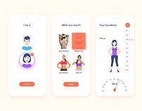 Fitness Guide App UI Design