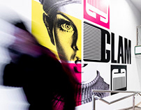 Glam Hairstylist - Brand Identity - Naming - Campaign
