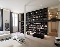 Apartment in Paris by Feld Architecture