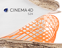 Maxon Cinema4D S24 - splash screens