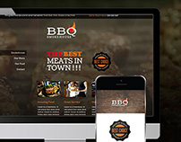 museGrid Template - BBQ SmokeHouse