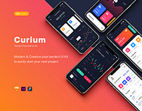 Curium - Financial UI Kit
