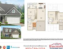 Executive Construction Homes cutsheets
