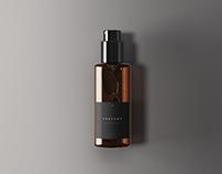 Classic Perfume Bottle Mockup