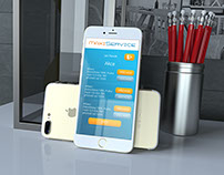 Mobile app for staff administration