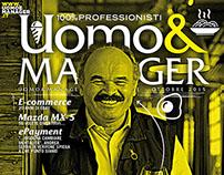 Cover design Uomo&Manager#30 / Ottobre 2015