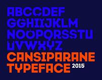 Cansiparane Free Typeface // 2015