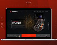 Game / Ecommerce / Web Design