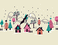 ILLUSTRATION PACK - Diseños de Navidad