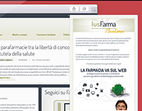 IusFarma.it - startup and 3 years management