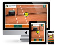 Billetterie en ligne Roland-Garros AO