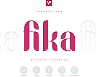 Fika Display Typeface - 4 fonts